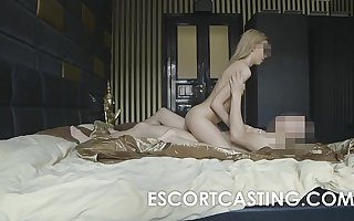 Skinny Blonde Teen Escort Anal Thrust