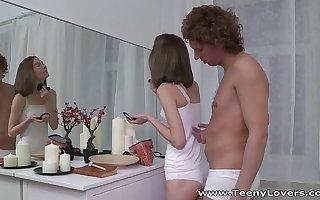 Teeny Lovers - Perky teen Serpente Edita fucking with pleasure