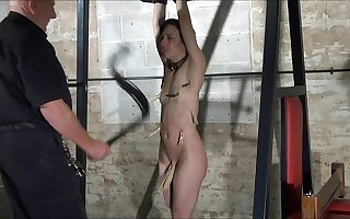 Throes of Elise Graves with regard to facial debasement and extreme whipping of american sla