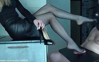 High heels and fugitive dick